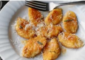 Butternut And Mascarpone Cheese Gnocchi