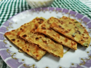 Indian Breakfast - Aloo Ka Paratha