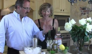Making Martini,Margarita and Classic Manhattan