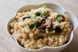 White Truffle and Mushroom Risotto