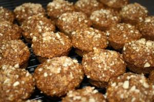 Oat And Honey Bran Muffins