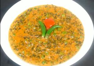 Indian Methi Matar Malai