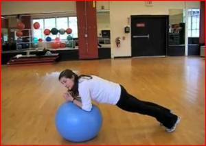 Stability Ball Abdominal Workout with Kathryn Smith