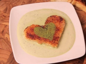 Valentines Day Green Tea Dessert - Matcha Toast