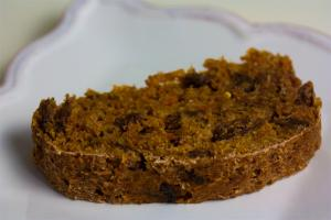 Carrot Raisin Tea Bread