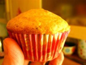 Low Cholesterol Orange Muffins