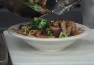 Broccoli and Mushroom Pasta