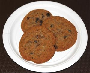 Raisin Butter Cookie