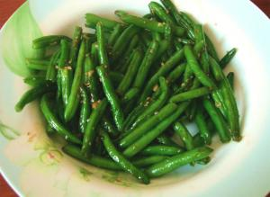 Green Beans with Oyster Sauce