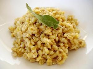 Barley Mushroom Pilaf
