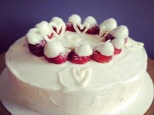 Tbt Strawberries Cream Cake