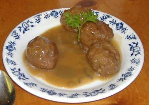 Swedish Beef Pork Meatballs