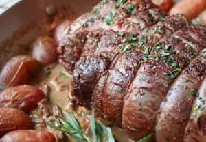 New Year's Eve Special Roast Tenderloin of Beef