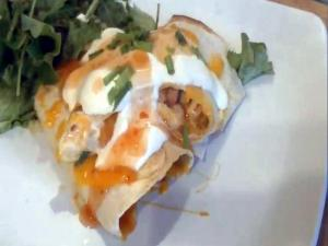 Sweet Chilli Chicken Burritos