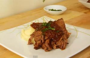 Beef Brisket Braised in Beer