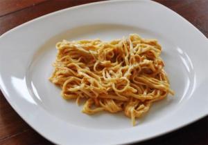 Baked Tomato Spaghetti