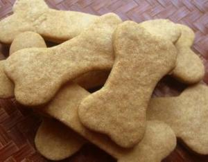 Homemade Peanut Butter Treats for Dogs