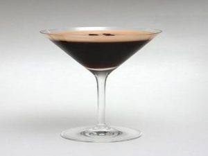 Coffee Martini, Green Tea Cocktail and Lychee Cocktail