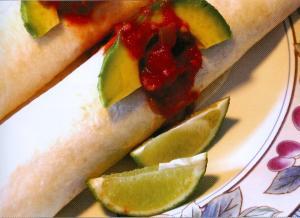 Ahi Tuna Burritos