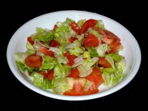 Tomato and Lettuce Salad