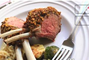 Pistachio Crusted Rack Of Lamb