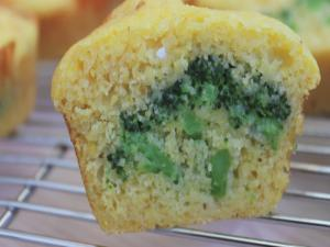 Broccoli & Gouda Stuffed Cornbread