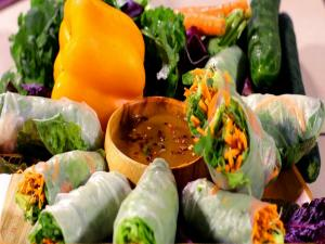 Dad's Vegan Summer Rolls