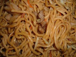 Beef Heart Chow Mein