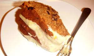 Orange Raisin Whole Wheat Cake
