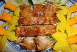 Hong Kong Crispy Roasted Pork Belly (Siu Yuk)