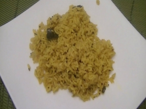 Lemon Rice: Indian Rice