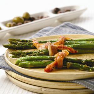 Prosciutto Tied Asparagus