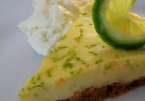 Sweet and Sour Key Lime Pie