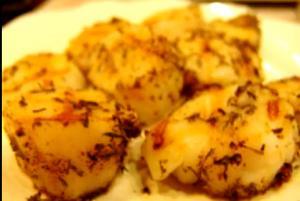 Grilled Mediterranean Scallops