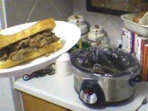 Italian Beef Sandwich