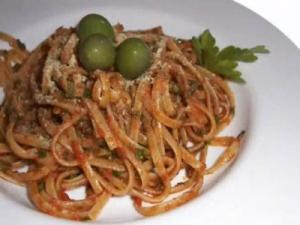 Linguine Pesto mit Petersilie - Vegan mit Attila