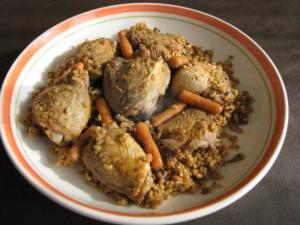 Rice Pilaf with Chicken - Easy Chicken