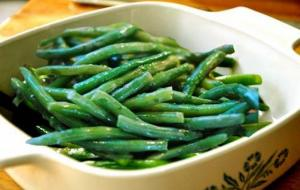 Green Beans With Dill