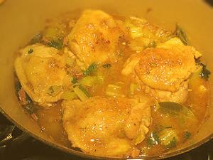 Fricassee Of Chicken
