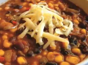 Three-Bean Meatless Chili