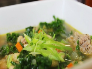 Sausage, Kale and Bean Soup