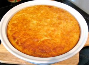 Dried Corn Pudding