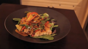 "Johnny Rich Health Show ""No Excuses"" Segment: Workout tips and Spicy Jalapeno Chicken Dish"