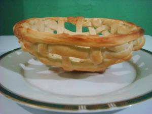 Homemade Bread Dough Basket