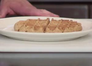 Dairy-Free Whole Wheat Flax Seed Waffle
