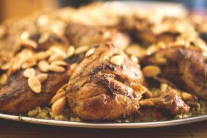 Marinated Broiled Chicken