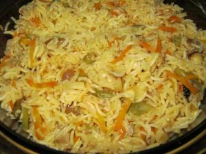 Coorgese Vegetable Pulav