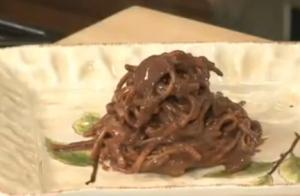 Chocolate Pasta Dessert