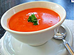 Raw Creamy Tomato Soup