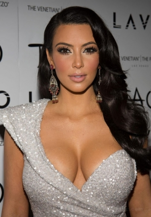 Kim Kardashian Can't Seem To Lose Weight!